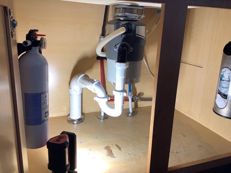 Replace leaking trap under kitchen sink in Barnegat, NJ