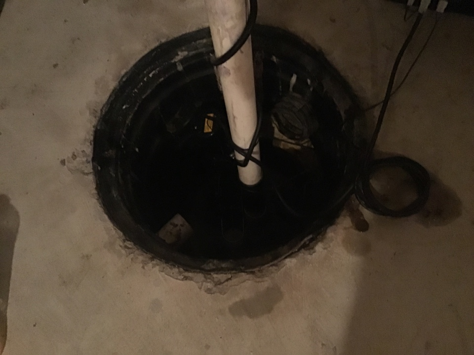 New 1/3 HP sump pump installed in Bayville NJ, will come back and replace to toilets as well.