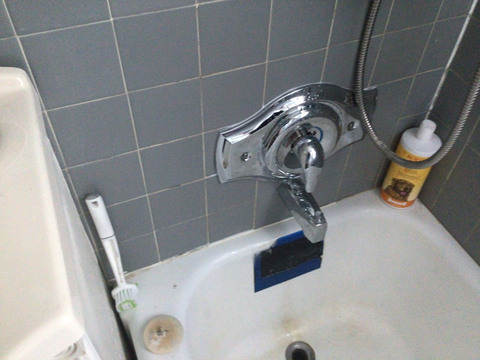 Replaced tub and shower valve in Spring Lake Heights