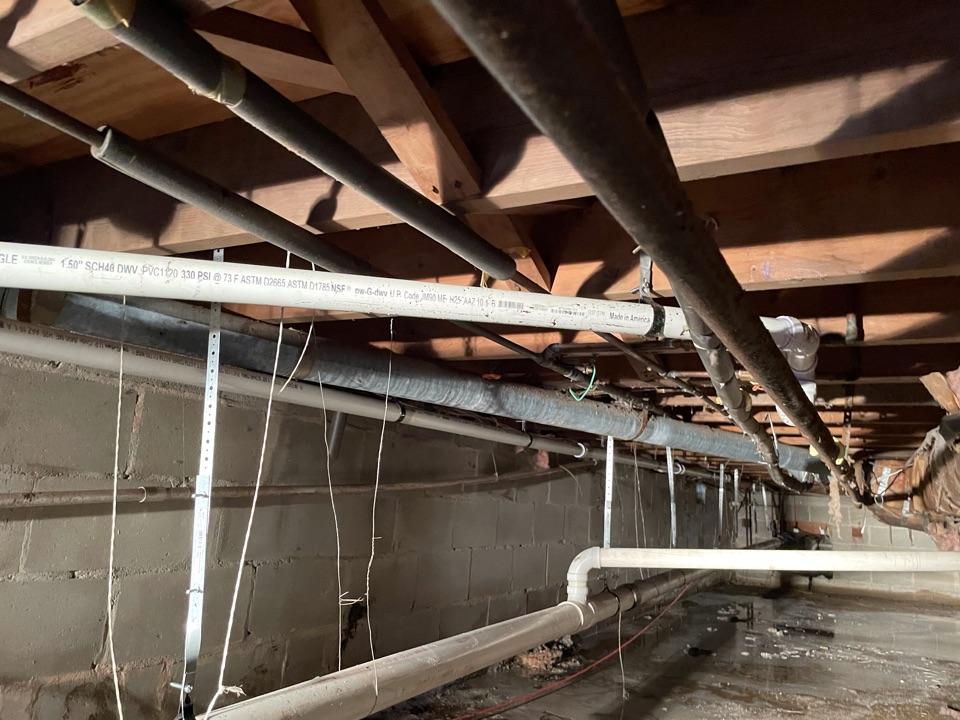 Neptune City, NJ - Repipe kitchen and bathtub waste lines
