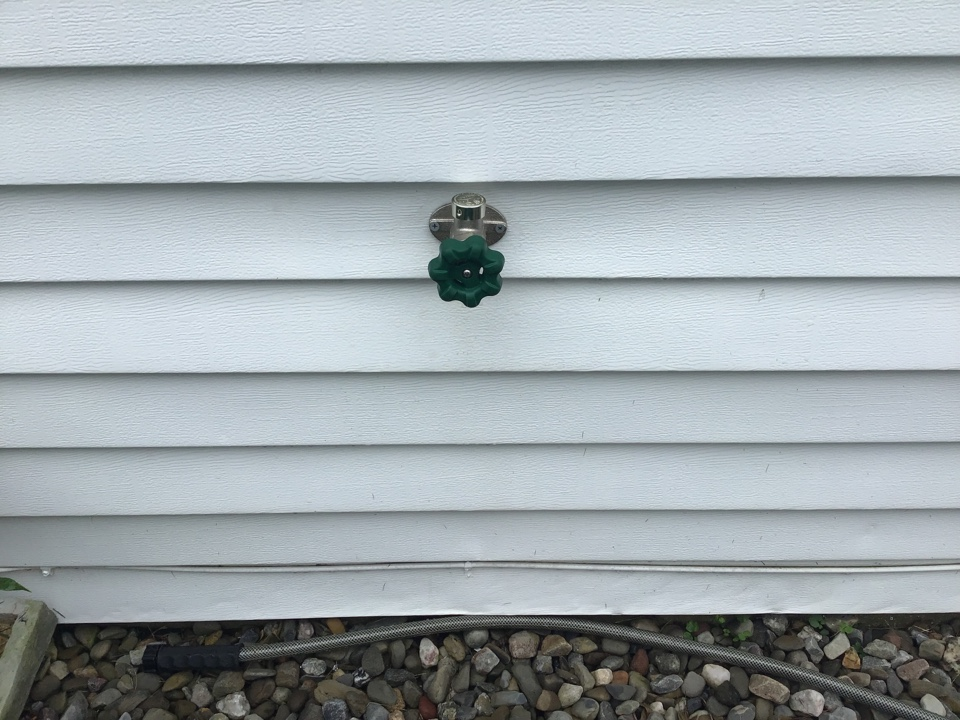 Replaced all hose bibs for the home and installed new ball valve to service one of them in Brick NJ.