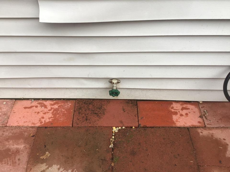 New hose bibb installed in Brick NJ