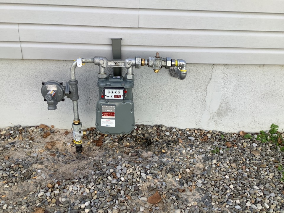 Install new gas piping in home and connect to new meter supplied By NJR in Seaside Heights, NJ