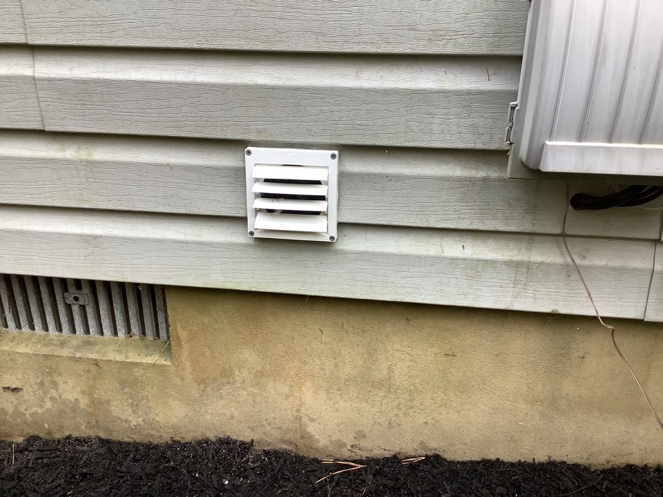 Install new dryer vent in Lacey Twp, NJ