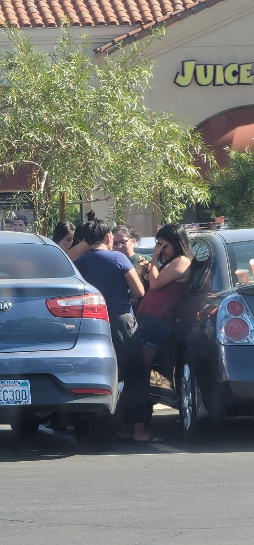 Moreno Valley, CA - Family reunited with missing daughter, Moreno Valley, CA