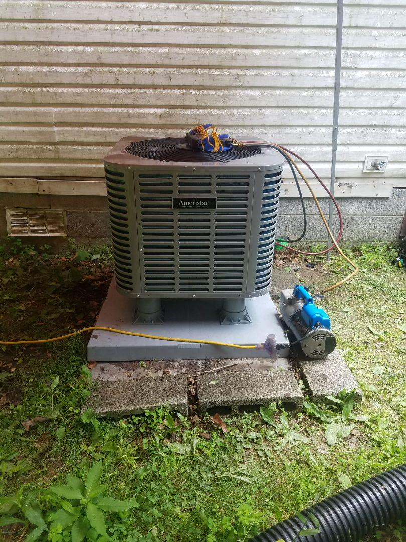 Pikeville, KY - Install Ameristar 3 ton heat pump