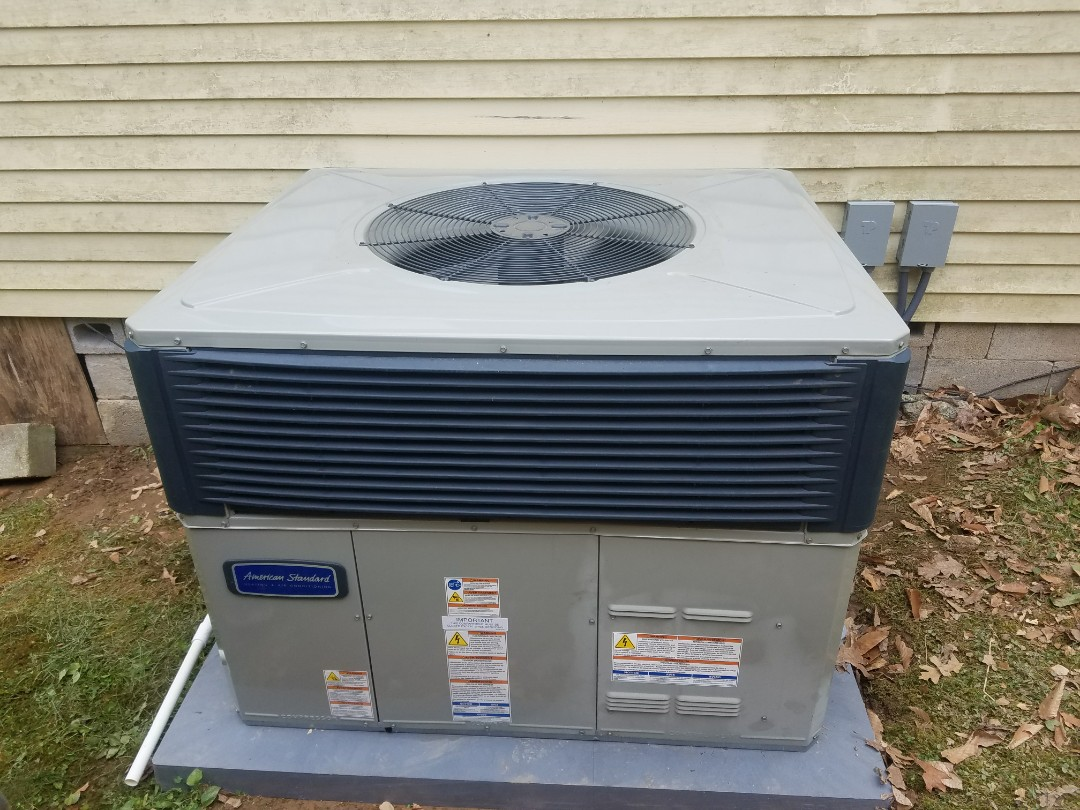 Shelbiana, KY - Install American standard 2.5 ton packaged heat pump