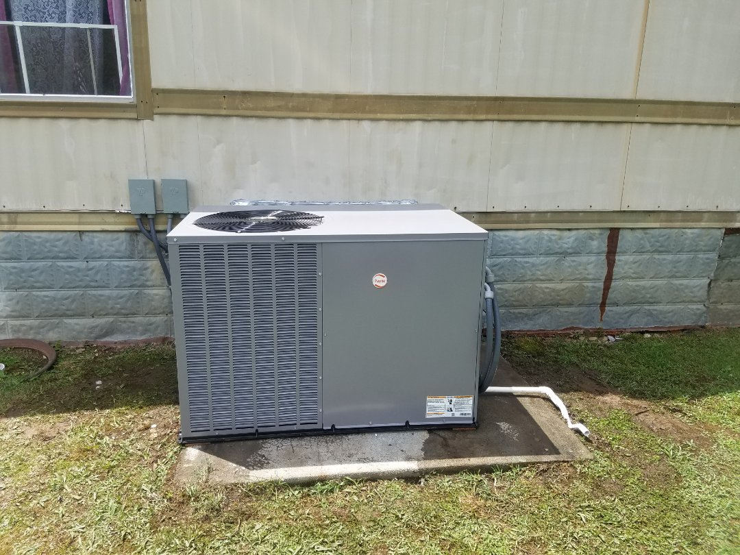 Shelbiana, KY - Install Payne 3 ton package unit