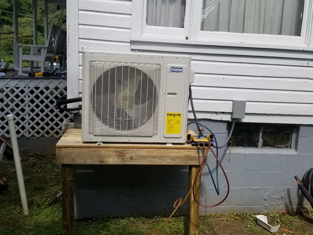 Pikeville, KY - Install American standard  ductless unit