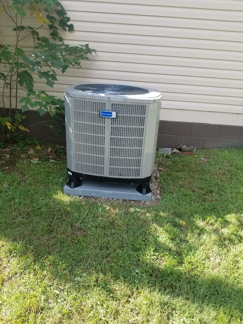 Virgie, KY - Install 4 ton american standard split system heat pump
