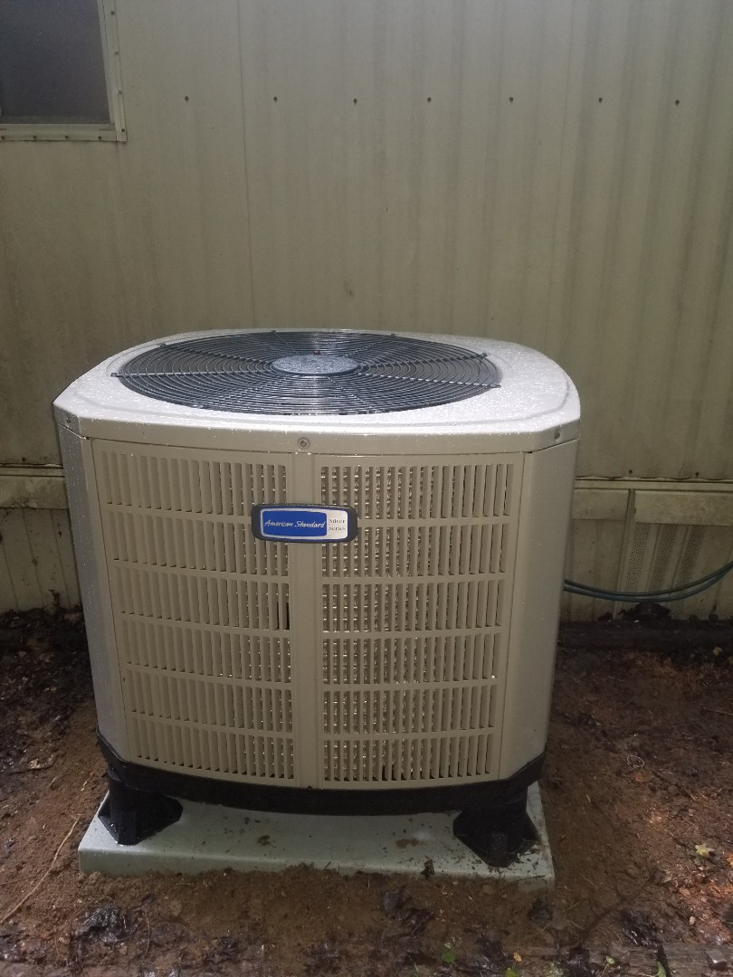 Pikeville, KY - Install American standard 3 ton split system heat pump