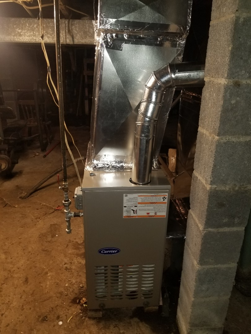Virgie, KY - Install carrier 80 percent gas furnace