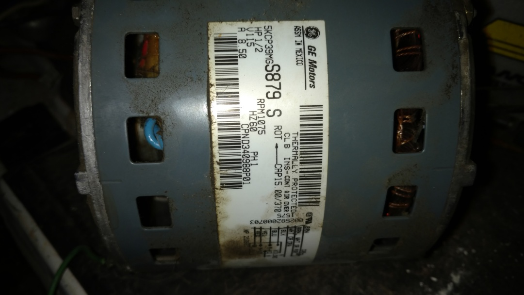 Hawkins, WI - Replace blower motor and flame sensor on Trane XE90 furnace