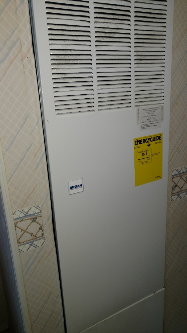 Glen Flora, WI - Replace ignitor on Intertherm LP gas mobile home furnace.