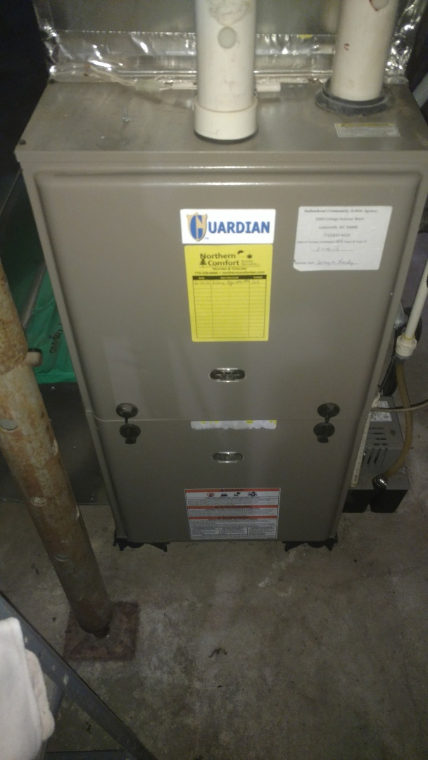 Phillips, WI - Replace ignitor on Luxaire Guardian furnace