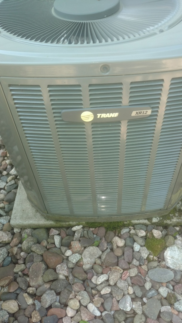 Phillips, WI - Tune up Trane XR12 air conditioner