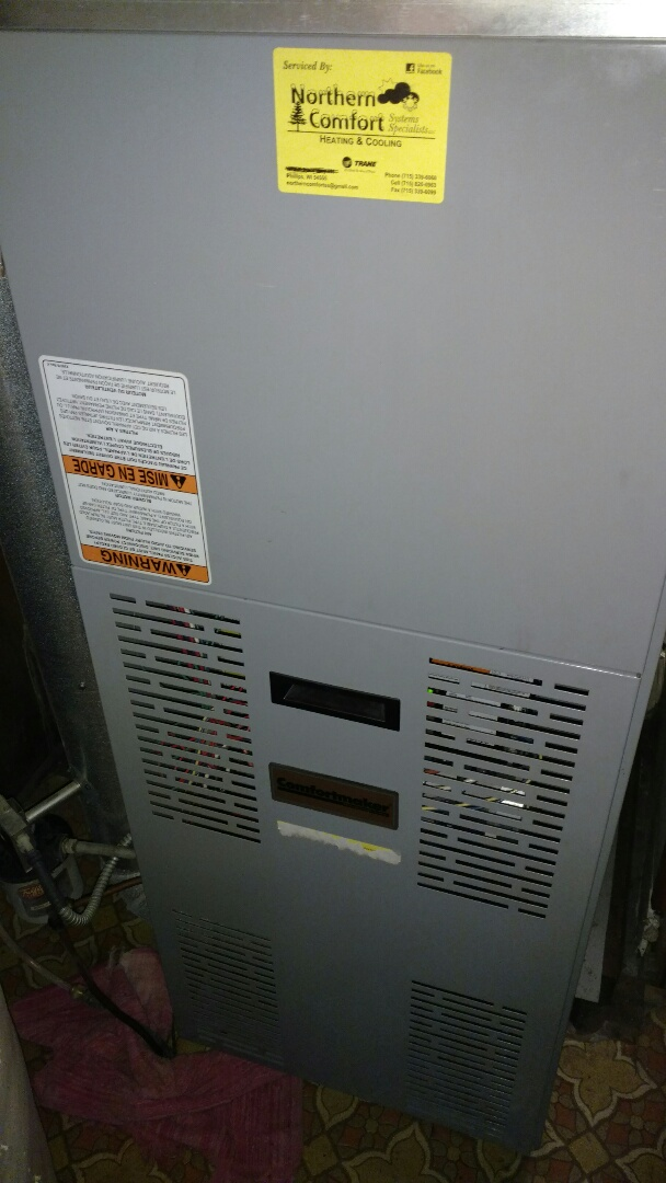 Prentice, WI - Perform preventive maintenance check on Comfortmaker oil furnace