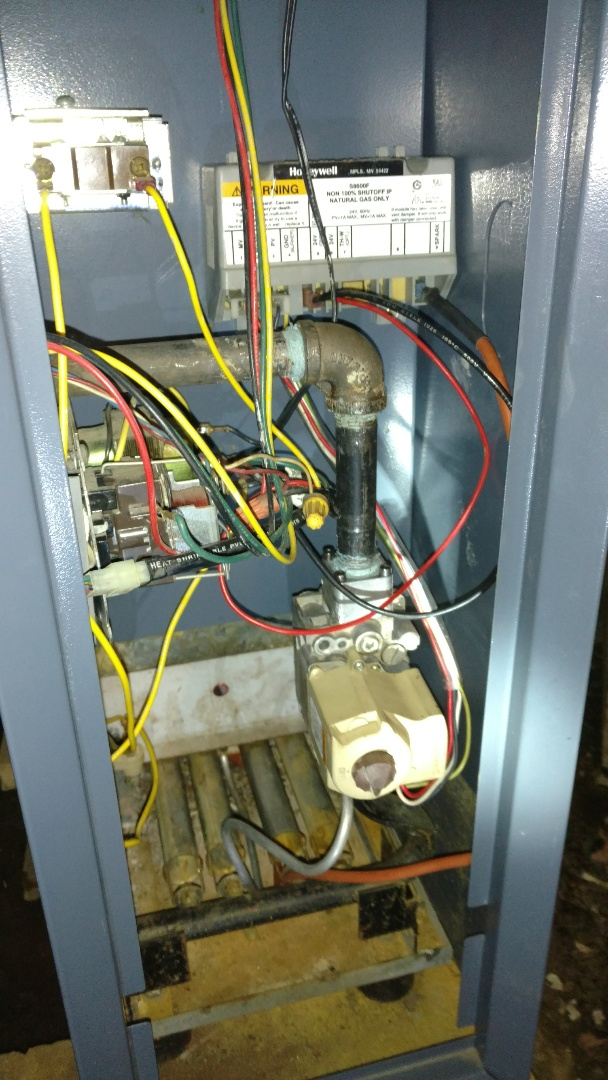 Phillips, WI - Replace ignition control on Weil Mclain natural gas boiler.