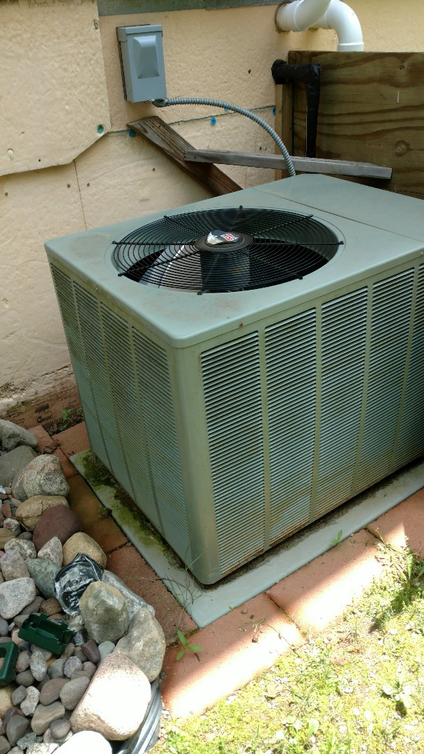 Park Falls, WI - Perform preventive maintenance check on Ruud air conditioner and Trane XV95 furnace.