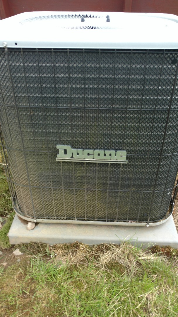 Park Falls, WI - Perform preventive maintenance check on Ducane air conditioner and Trane XR90 furnace.
