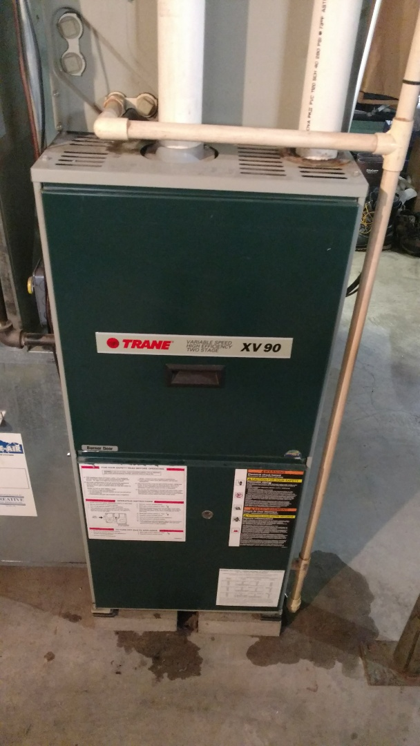 Westboro, WI - Perform fall heating check on Trane xv90 furnace.