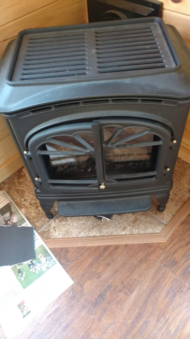 Park Falls, WI - Service Heat & Glo fireplace. Adjust Inlet gas pressure to allow unit to light properly.