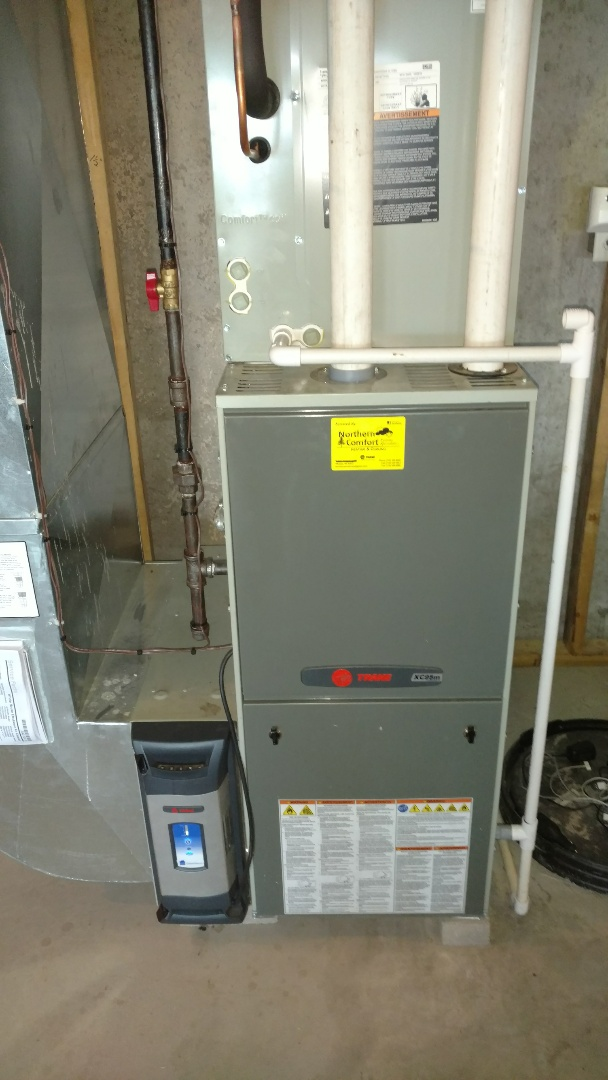 Prentice, WI - Start up Trane xr14 and xc95 system.