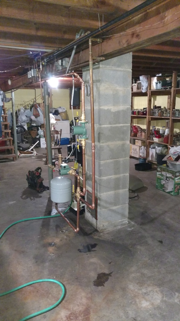 Conrath, WI - Install Weil Mclain ECO LP gas boiler.