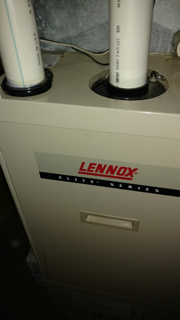 Kennan, WI - Replace high limit switch on Lennox Elite LP gas furnace. Perform preventive maintenance check.