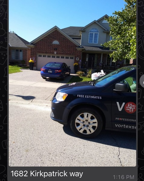 London, ON - Today Vortex Services is deep cleaning and sanitizing this lovely residential home and restoring it back to brand new status.