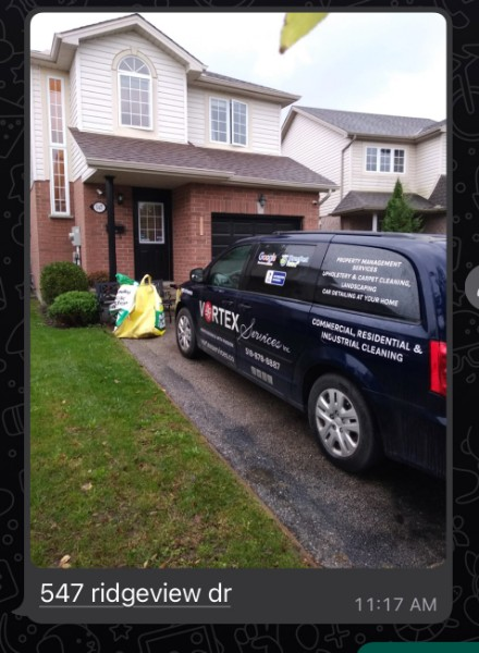 London, ON - Today Vortex is deep cleaning and sanitizing this gorgeous residential home.