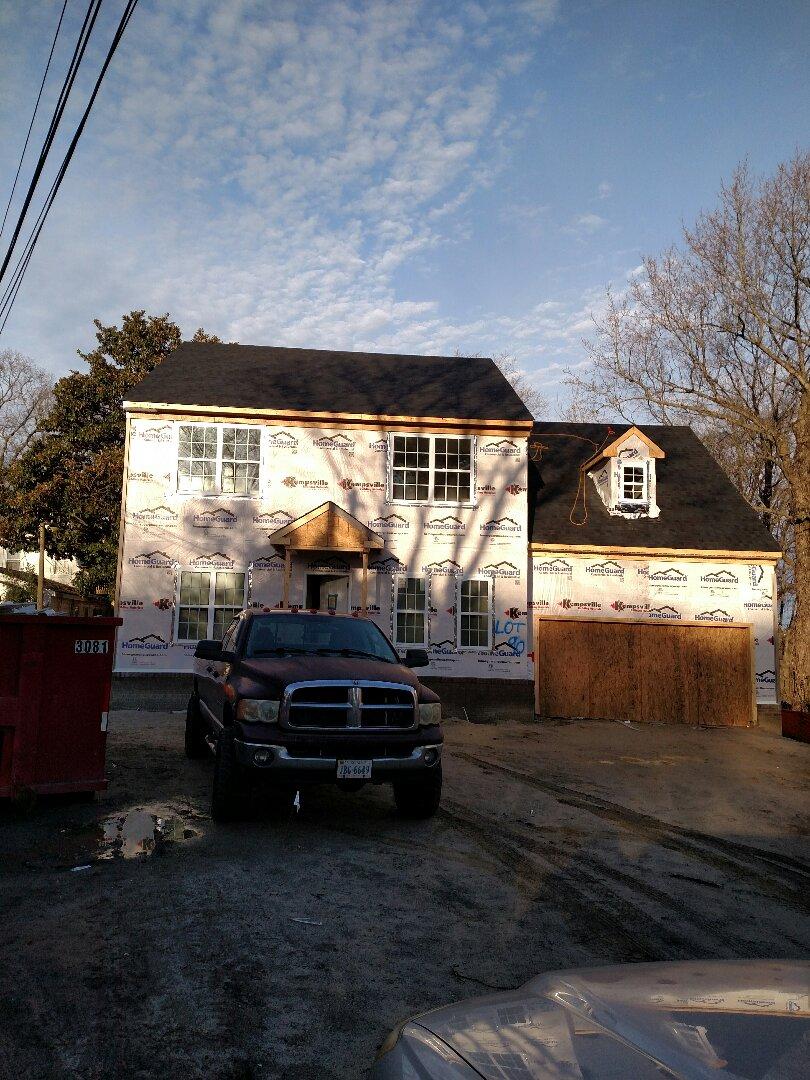 Chesapeake, VA - New home construction update on progress.