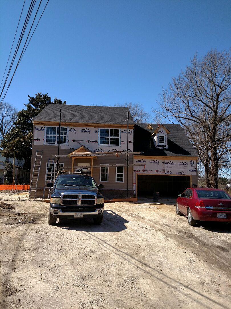 Chesapeake, VA - Progress of new sold home