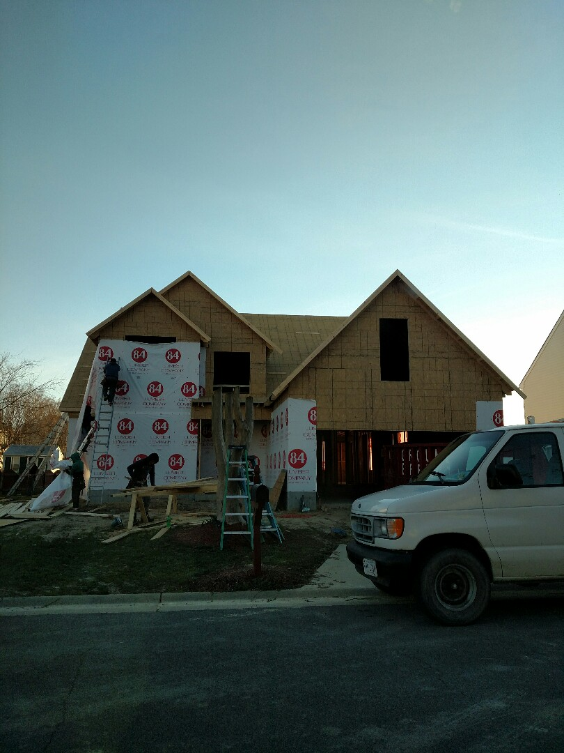 Suffolk, VA - Progress report of new construction home for client