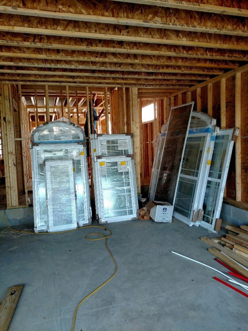Suffolk, VA - Windows being installed today