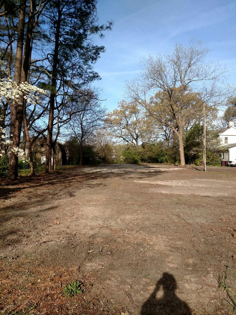 Chesapeake, VA - New home site about to be started.  Home for sale in the high 200's
