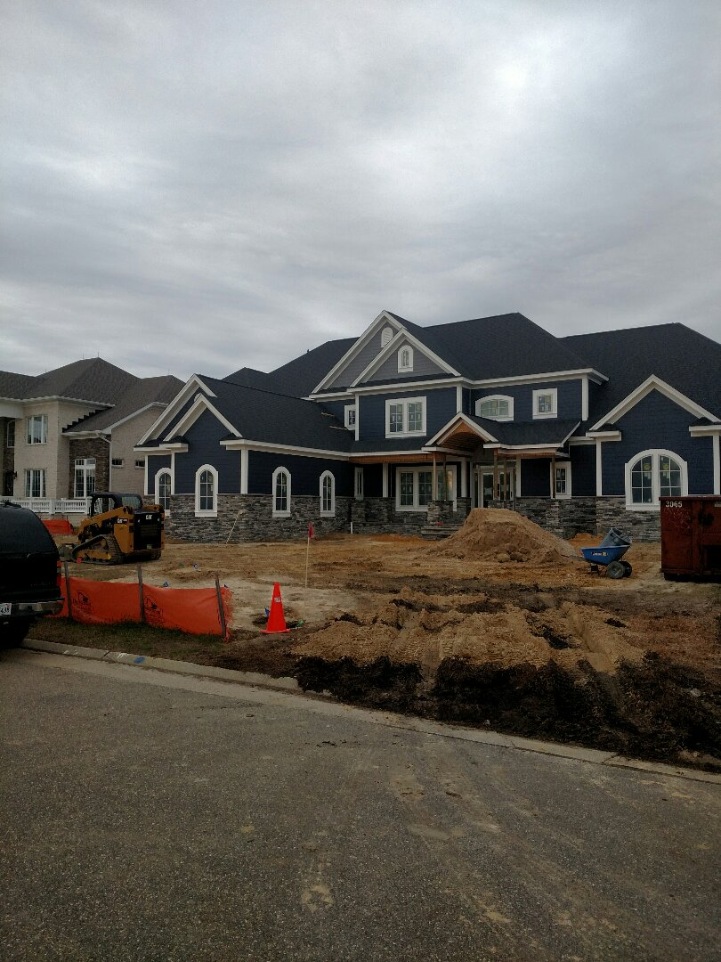Suffolk, VA - New construction Custom home - driveway starting today