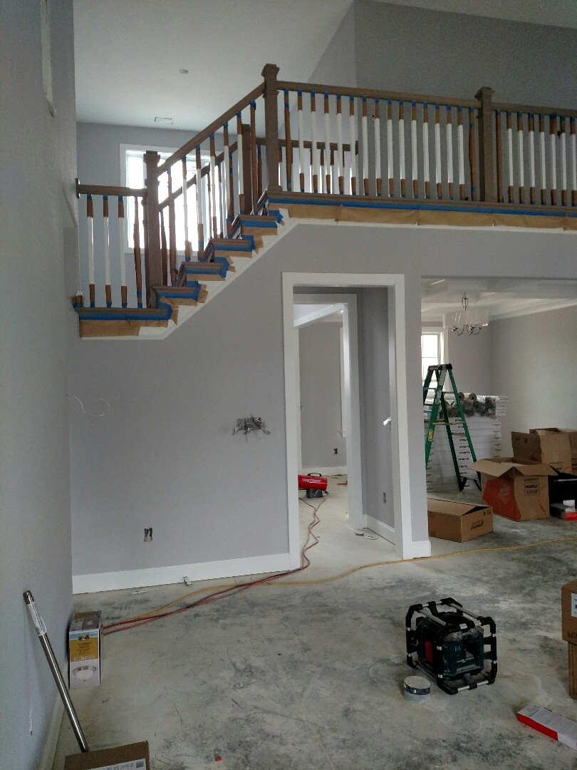 Carrollton, VA - Custom new construction home for sale, finishing interiors, ready to move in about 30 days.