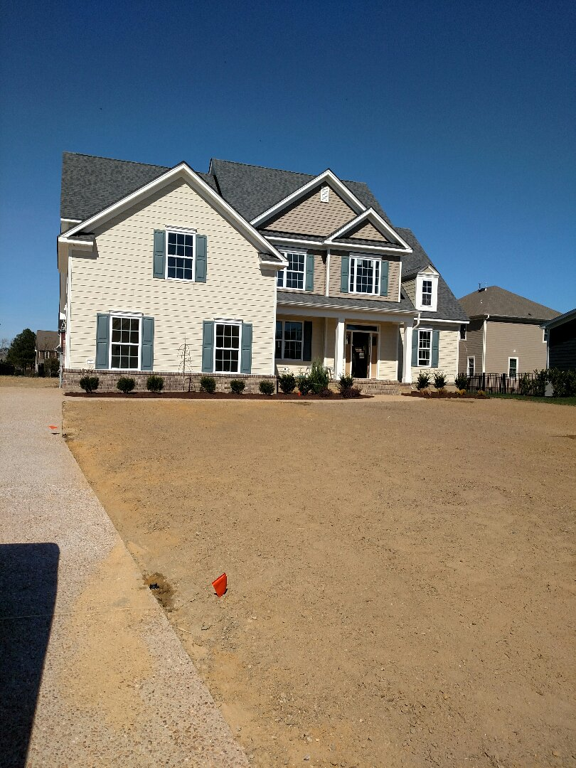 Carrollton, VA - Custom home for sale.  Landscaping is done.  Ready to move in within 30 days.