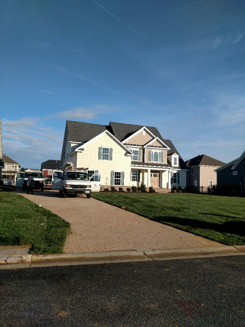 Carrollton, VA - Custom home finishing up.  Ready to move in  For sale