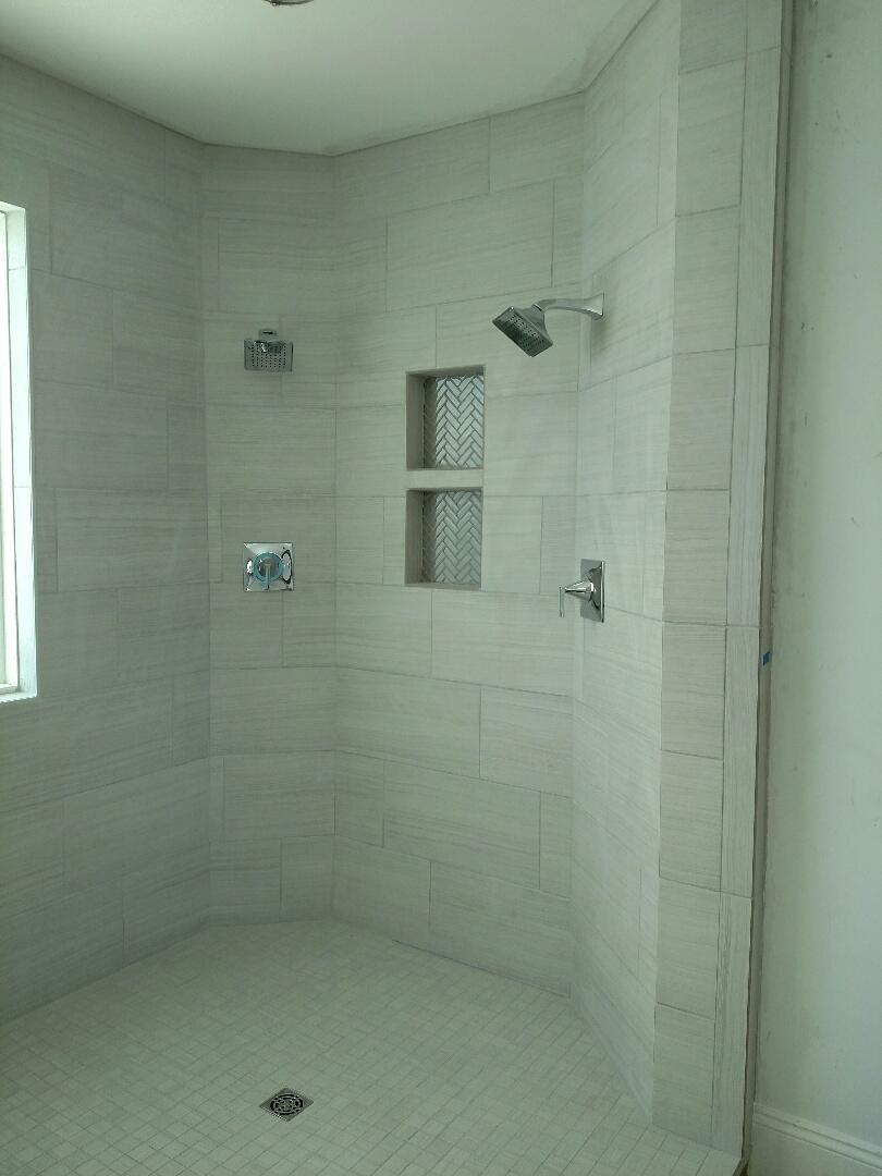 Suffolk, VA - Custom new construction home I'll shower