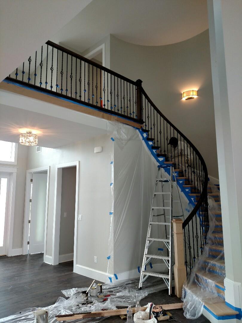 Suffolk, VA - Finaling custom home