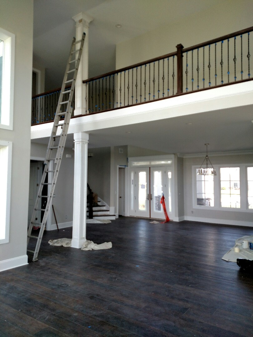 Suffolk, VA - Custom home on the water almost finished