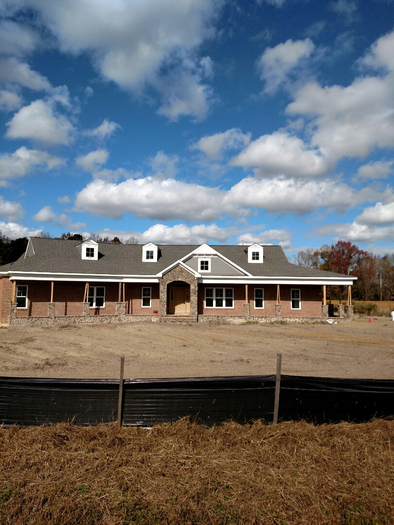 Suffolk, VA - Beautiful custom home in the country.  Exterior almost finished