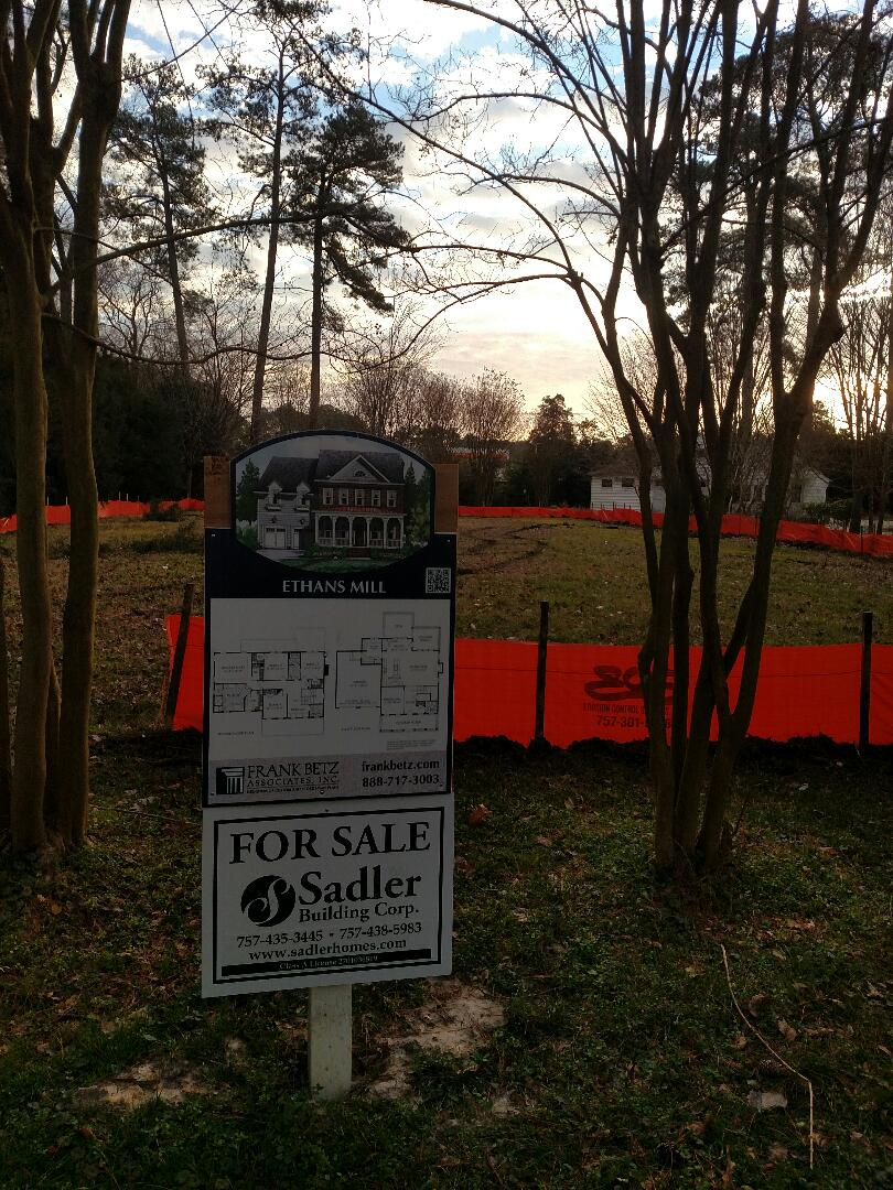 Chesapeake, VA - New construction custom home starting next week