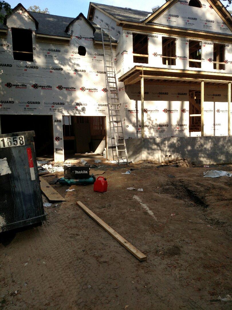 Suffolk, VA - Custom home ready for siding