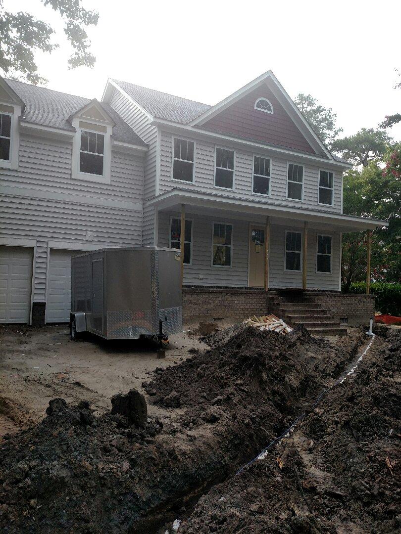 Chesapeake, VA - Custom Home soon to be finished