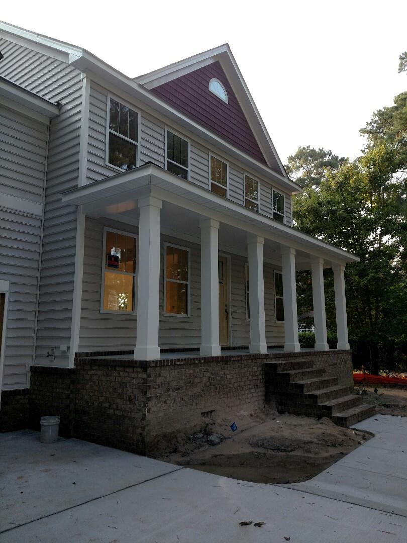 Chesapeake, VA - Custom Home finishing up.  Client moving in soon