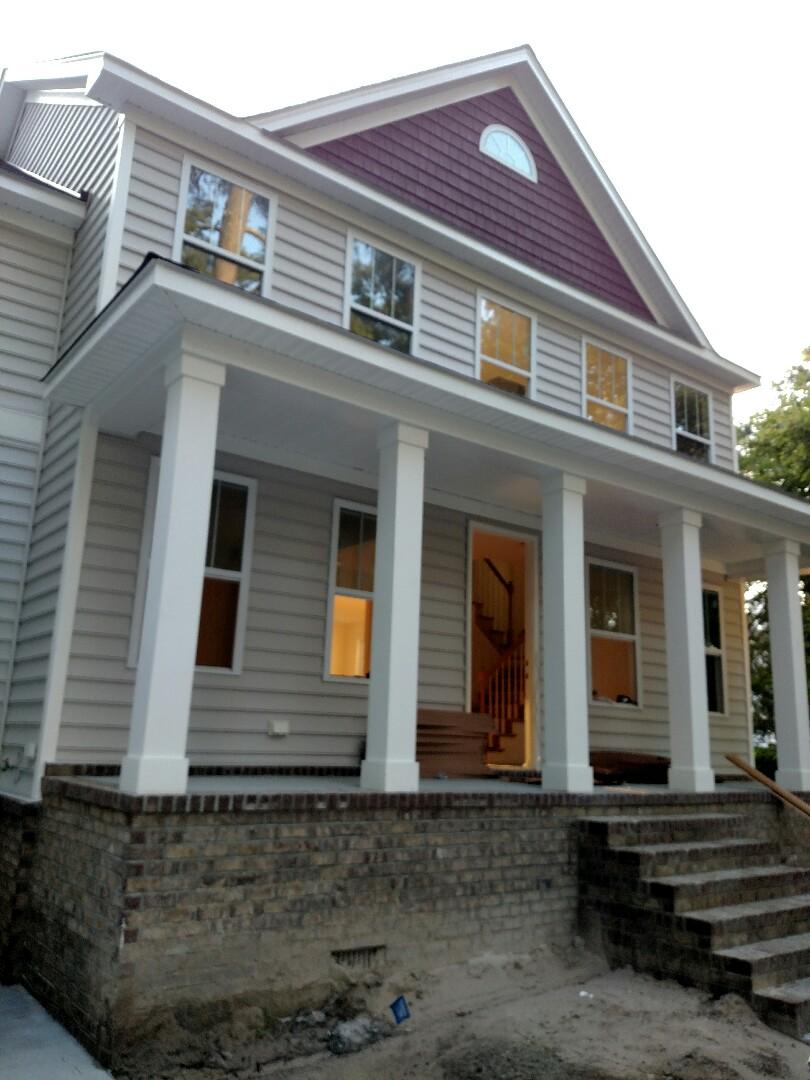 Chesapeake, VA - Custom Home finishing up.