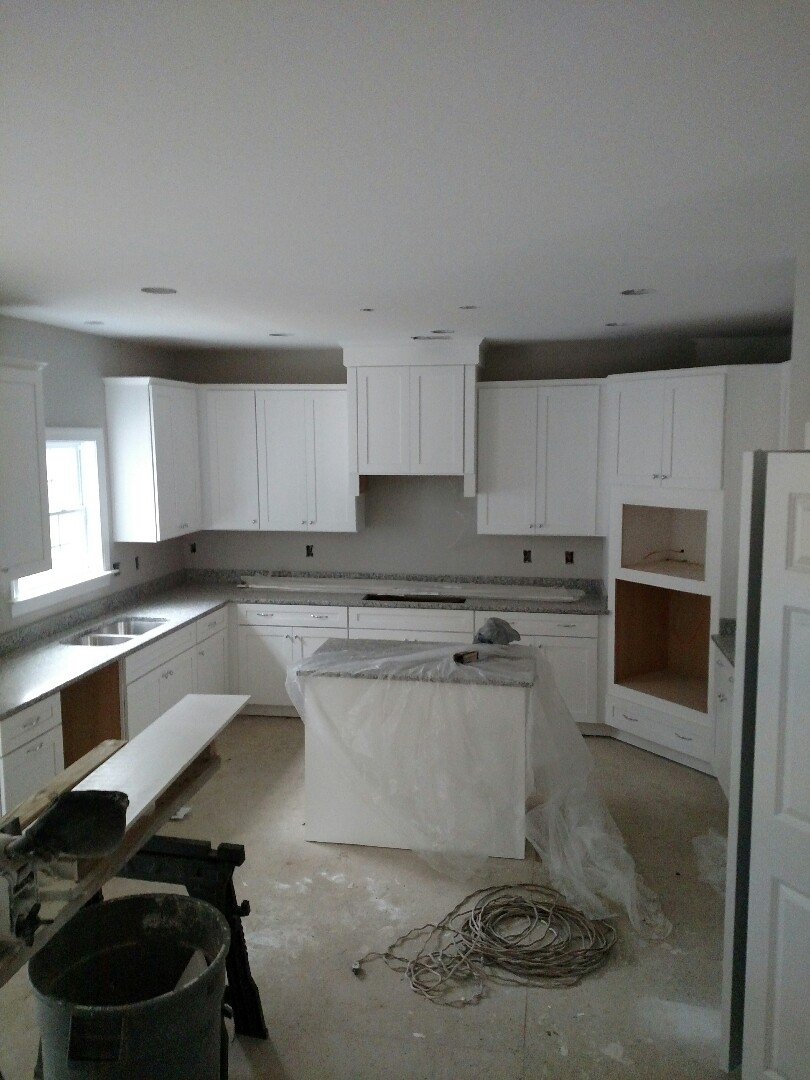 Suffolk, VA - Meeting potential client to walk new home for sale